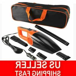 120W High Power Car Vacuum Cleaner With BAG Portable Handhel