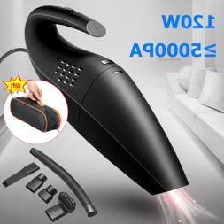 120W High Power Rechargeable Corded Wet & Dry Portable Car H