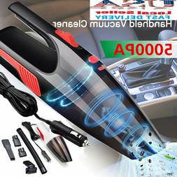 12V Car Vacuum Cleaner Small Mini Portable For Auto Home Wet