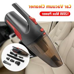 Car Vacuum Cleaner 12V 120W For Auto Mini Portable Wet Dry H