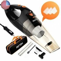 HOTOR Corded Car Vacuum Cleaner with LED Light, HOTOR DC12