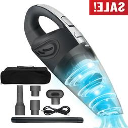 Cordless Car Vacuum Cleaner Home Rechargeable Wet/Dry HEPA H