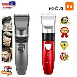 Electric Hair Clippers Rechargeable Cordless Men Hair Cut Ba