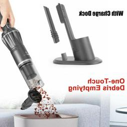 Moosoo handheld vacuum Cleaner for carpet car pet cordless u