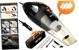 HOTOR Corded Car Vacuum Cleaner with LED Light, HOTOR DC12-V