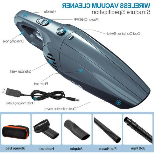 9000Pa 120W Car Vacuum Suction for