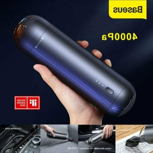 4000pa cordless car vacuum cleaner strong suction