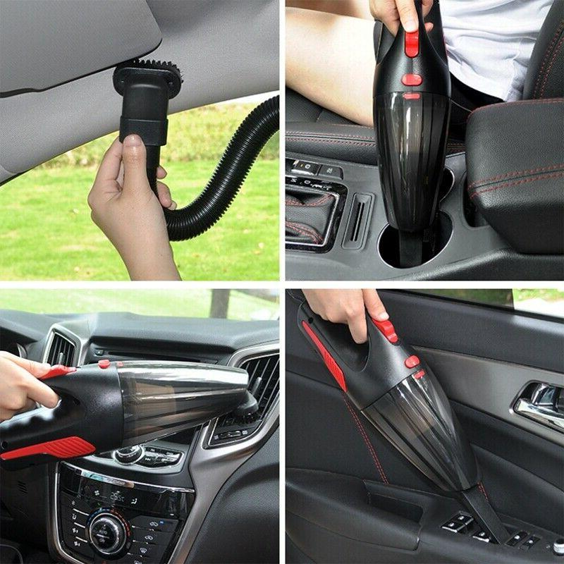 Car Vacuum Cleaner 12V 120W Auto Mini Portable Wet Dry Handh
