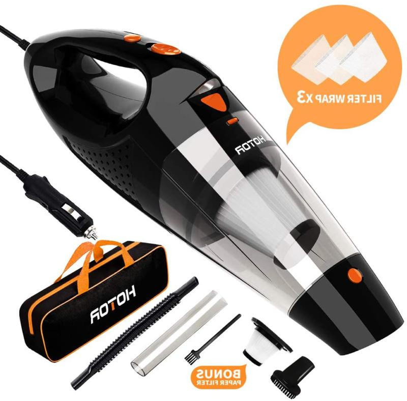 corded car vacuum cleaner high power portable