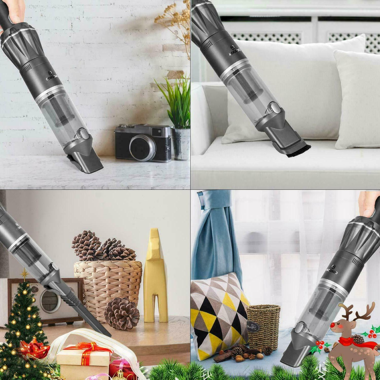 MOOSOO K12 Vacuum Strong Suction Cordless Cleaners