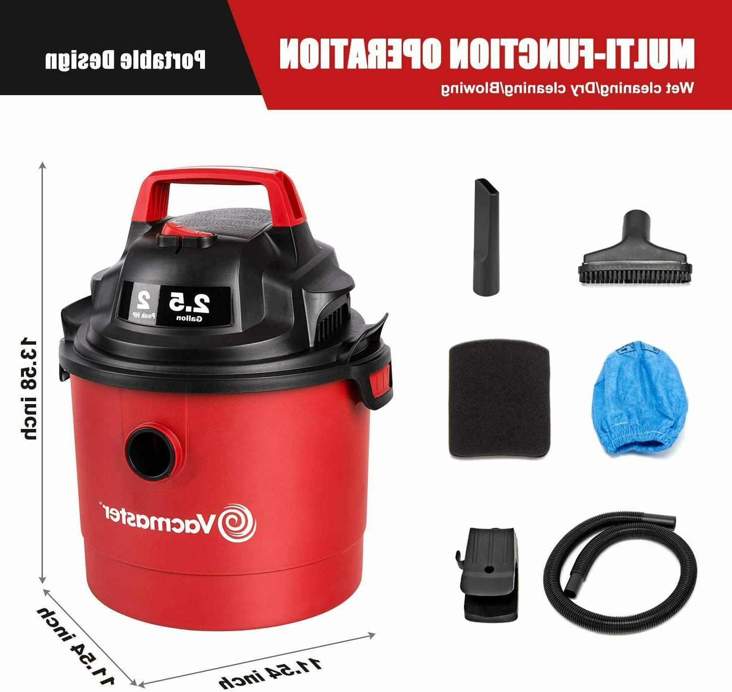 Vacmaster Shop Wet Dry Cleaner Mount Sweeper