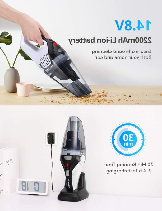 VACUUM CLEANER Portable Handheld Home Cleaning HOMASY