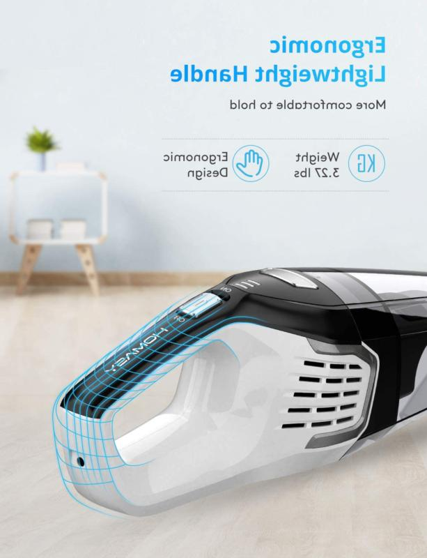 VACUUM CLEANER Handheld Cleaning Dry Use HOMASY