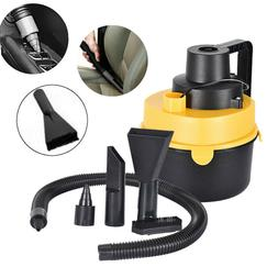 Portable Car Vacuum Cleaner 12V With 75W For Auto Mini Wet D