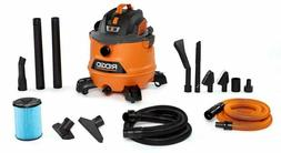 shop vacuum kit wet or dry w