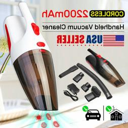 US Cordless Hand Held Car Vacuum Cleaner For Detailing and C