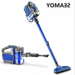 Vacuum Cleaner Corded 2-in-1 600W Dry Use Super Suction Car